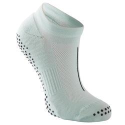 Antislip sokken voor pilates heren lichtgroen
