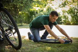 como cuidar da bicicleta