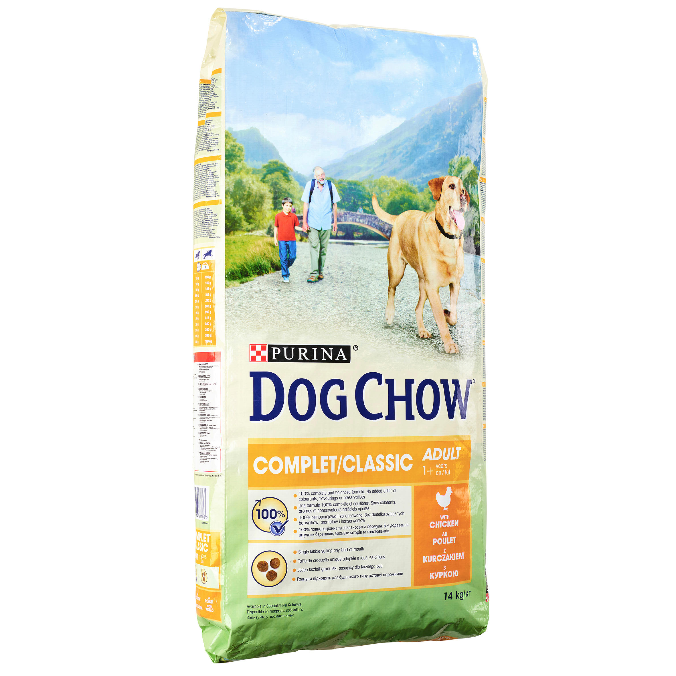DOGCHOW COMPLET/CLASSIC PUI