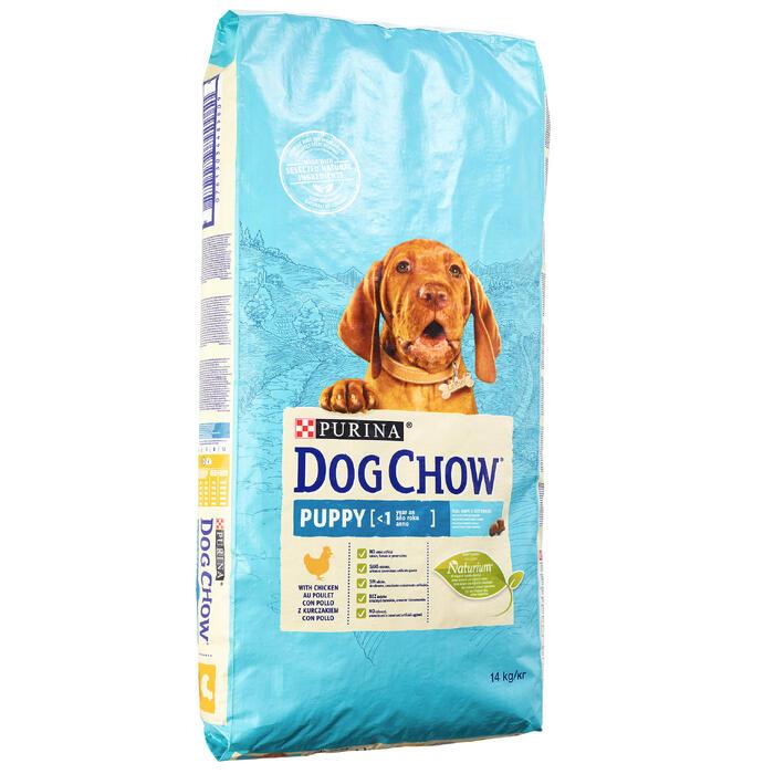 HONDENVOER DOG CHOW COMPLET/JUNIOR KIP 14KG