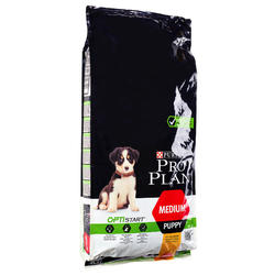Hondenvoer Pro Plan Medium Puppy kip 12 kg