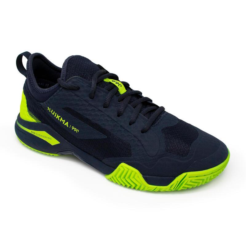 Men's Padel Shoes PS 990 Dynamic - Blue/Yellow