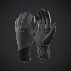 Adult Mountain Trekking Windproof Gloves Trek 900 - Grey