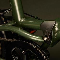 Vouwfiets Tilt 900 groen/kaki