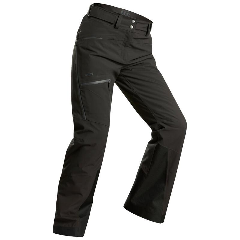 Dámské lyžařské kalhoty na freeride FR500 šedé