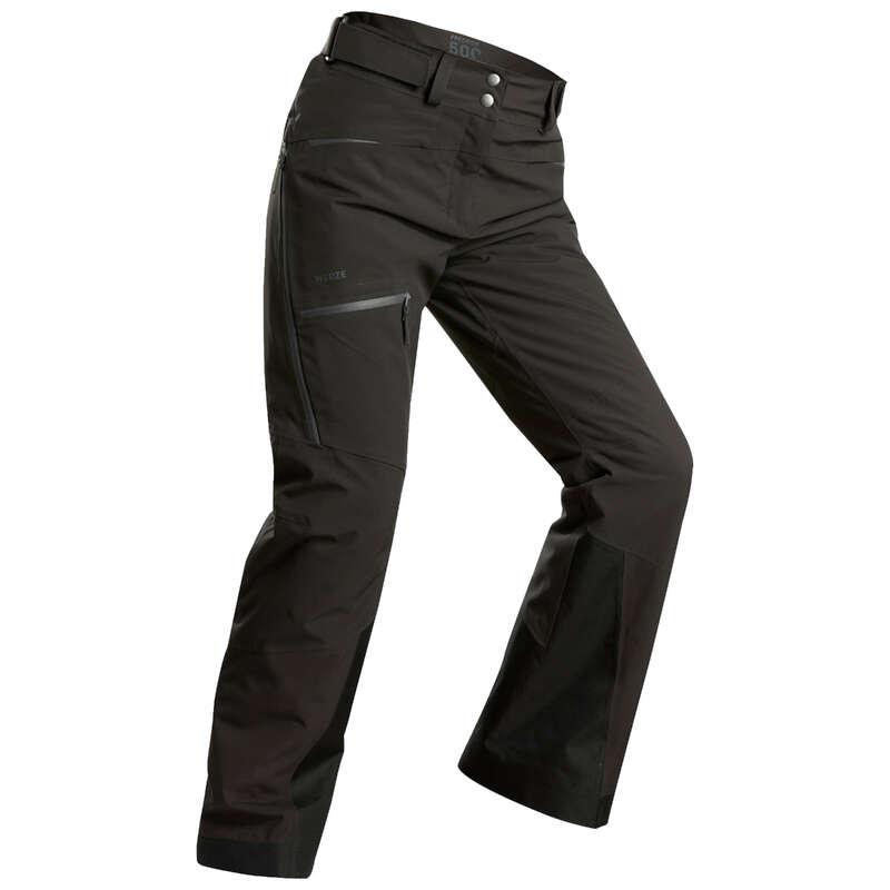 WOMEN'S FREERIDE SKIING CLOTHING Dam - SKIDBYXA FR500 D Grå WEDZE - Underdelar