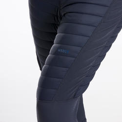 Calções Térmicos de Ski Freeride Mulher FR900 Azul
