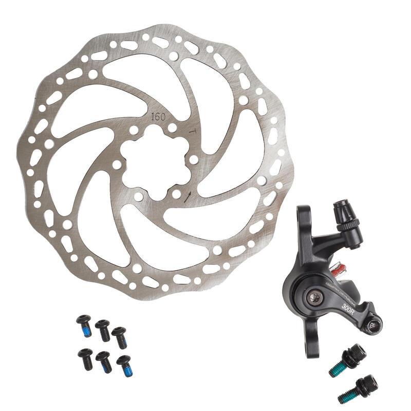 kit frein à disque mécanique arrière
