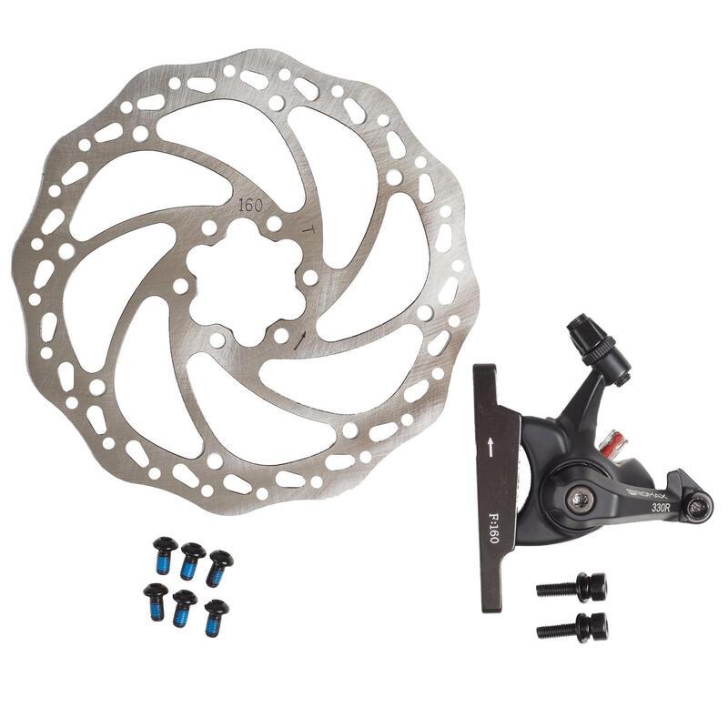 Kit frein à disque mécanique KIT DSK330 R PROMAX avant