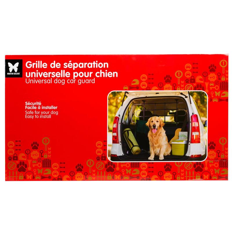 Grilaj universal pentru separarea câinelui în mașină