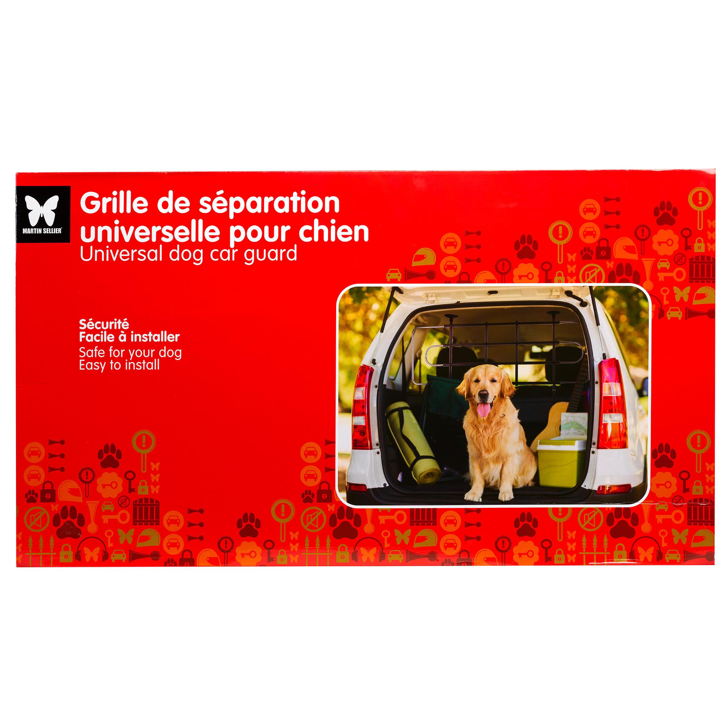 Grilaj protecție auto câine imagine