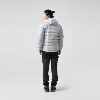 羽絨連帽外套TREK500-灰色