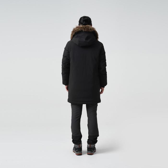 長版羽絨外套TREK900-黑色