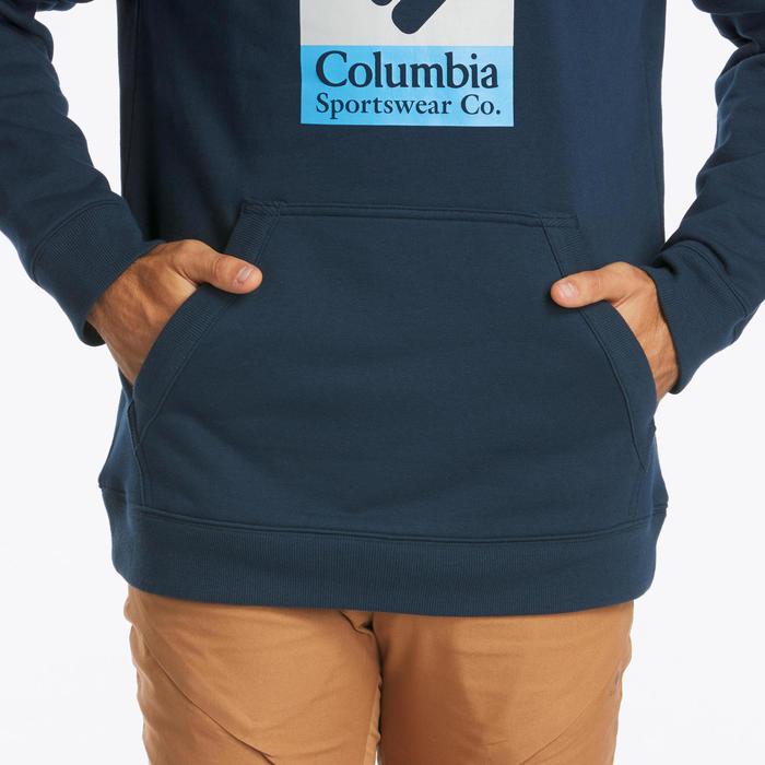Sweat à capuche de randonnée nature - Wells Way Columbia - Homme