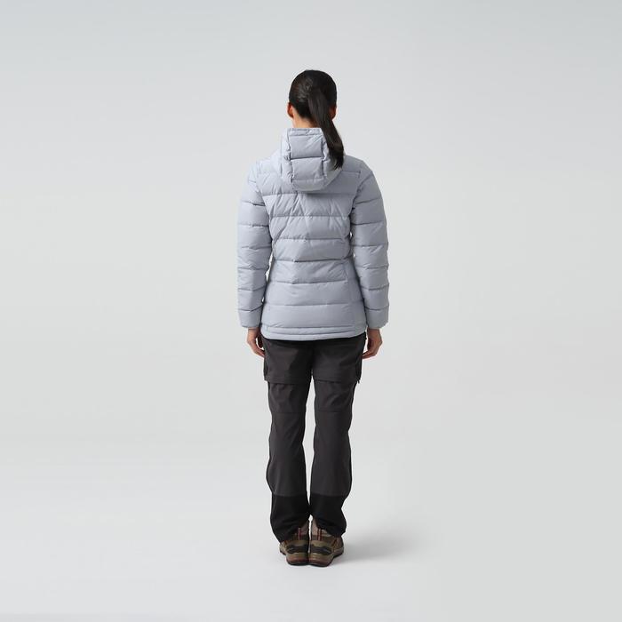 羽絨連帽外套TREK 500-灰色