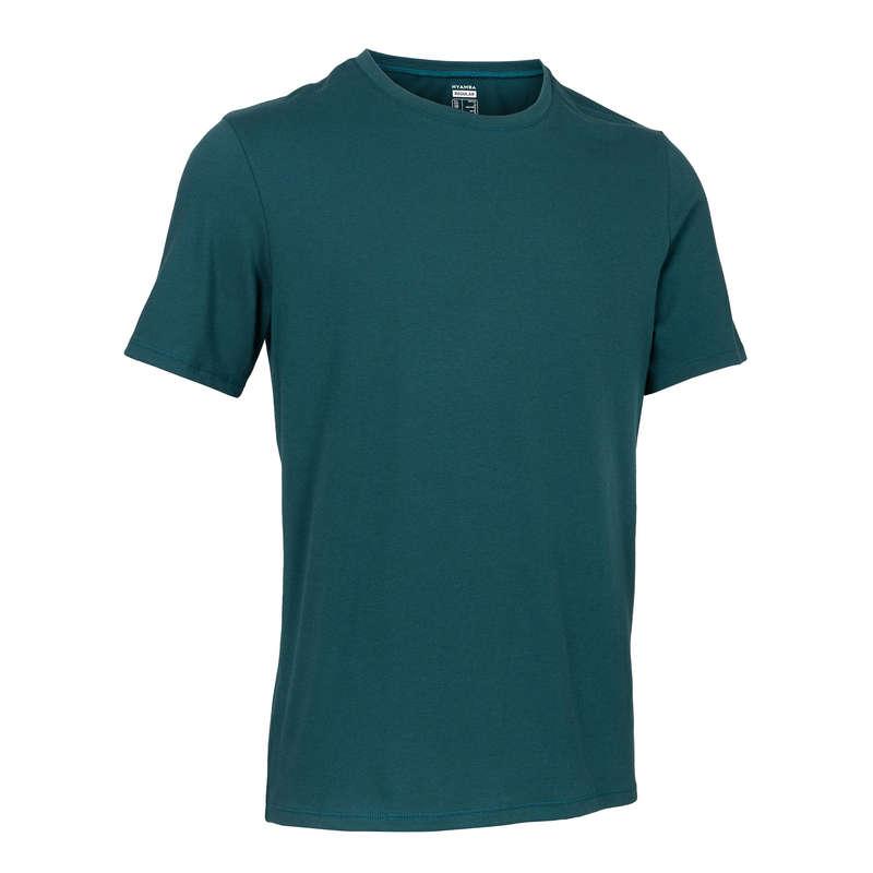 МУЖСКИЕ ФУТБОЛКИ ‒ ШОРТЫ Летняя одежда и обувь - Футболка мужская 500 NYAMBA - Летняя одежда и обувь