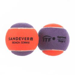 Beachtennisballen BTB 900 S paars 2 stuks