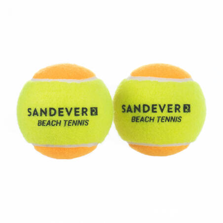 Dviejų paplūdimio teniso kamuoliukų komplektas BTB 900 S