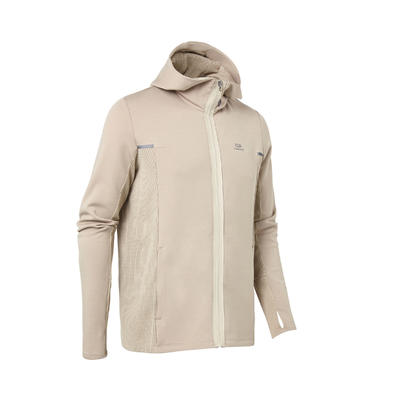 VESTE RUNNING RUN WARM + CAFE GLACE HOMME