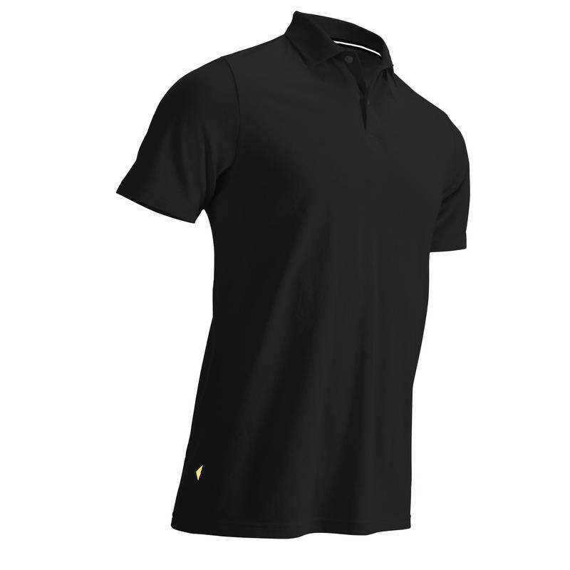 Men's Golf Short Sleeve Polo Shirt - Black