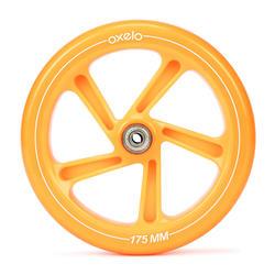 Roue orange pour trottinette MID7 et MID9