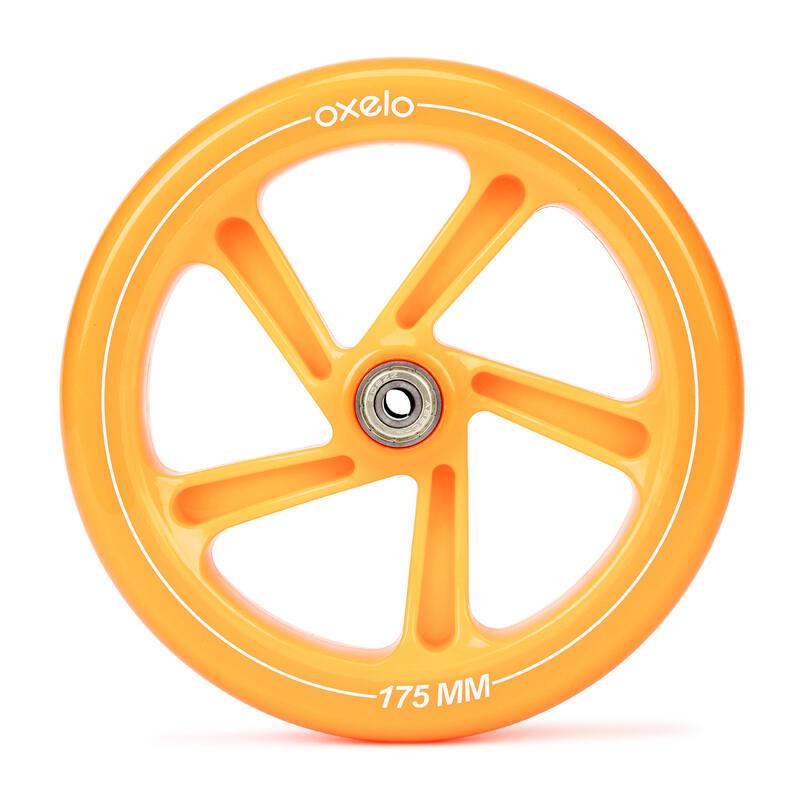 Kolečko ke koloběžce MID7 a MID9 175 mm oranžové
