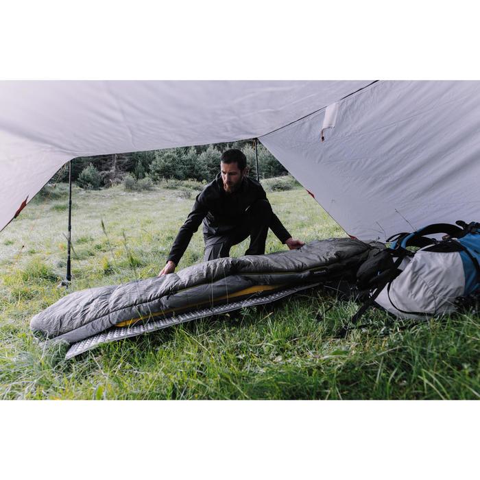 Schutzzelt Trekking Tarp Trek 900 grau