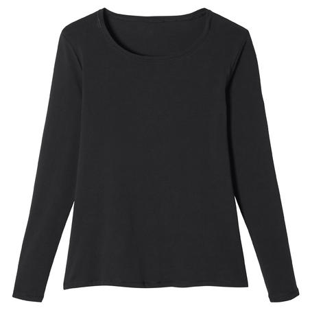 100 Long-Sleeved Gym T-Shirt – Women