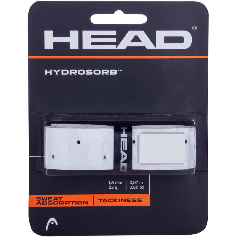 RACKETS ACCESSORIES Tennis - Grip Hydrosorb HEAD - Tennis Accessories WHITE