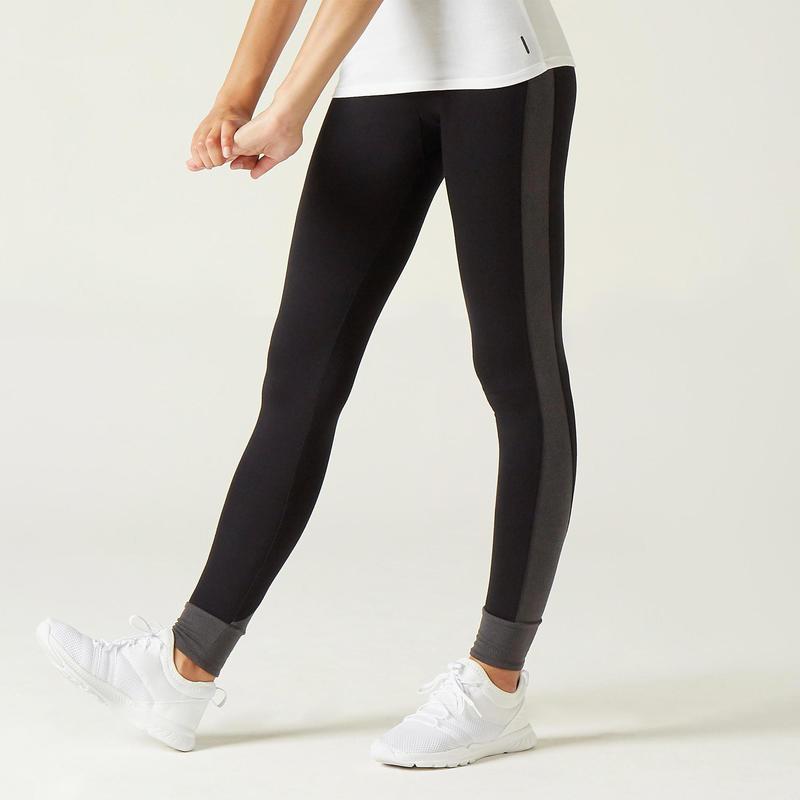 Women's Sports Leggings 510 - Black/Patterned