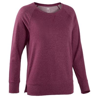 T-Shirt Manches Longues 500 Femme Violet