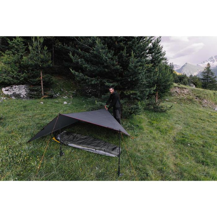 Tarp de trekking 2 saisons - TREK 900 gris