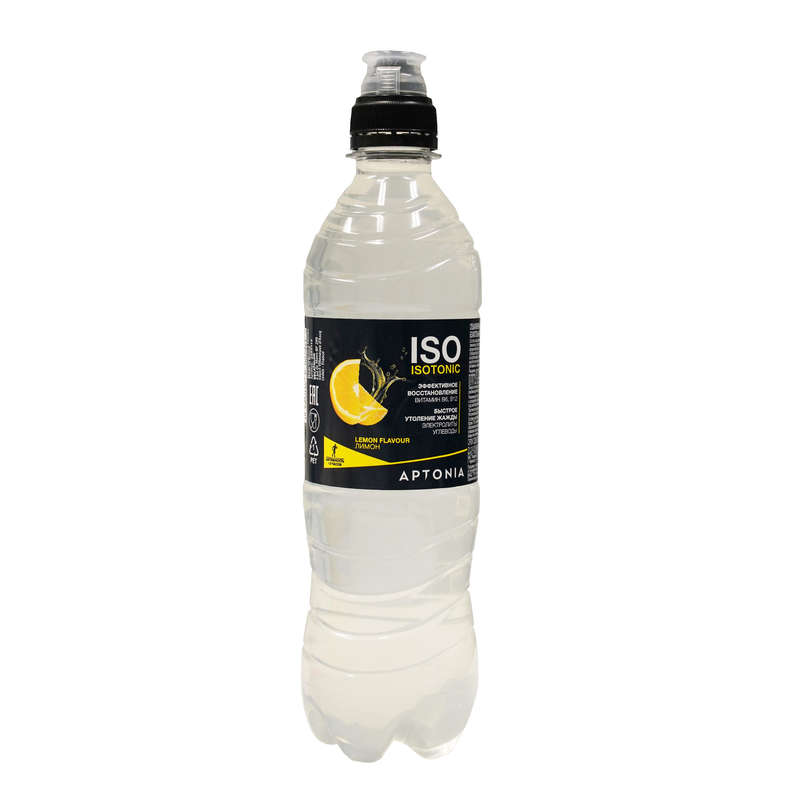 НАПИТКИ И ПРОДУКТЫ ПЕРЕД СПОРТОМ Фитнес, пилатес - Изотоник ISO 500 мл, лимон APTONIA - Спортивное питание