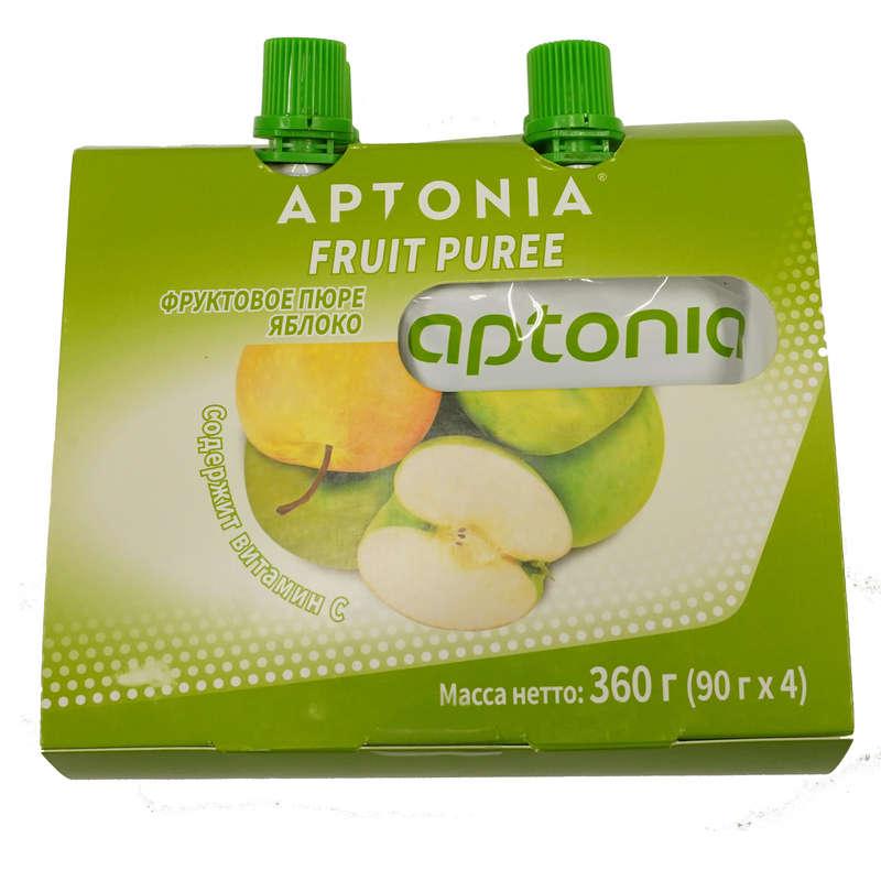 БАТОНЧИКИ, ГЕЛИ И ПРОДУКТЫ ПОСЛЕ СПОРТА Спортивное питание - ПЮРЕ ФРУКТОВОЕ яблоко 90г X4 APTONIA - Спортивное питание