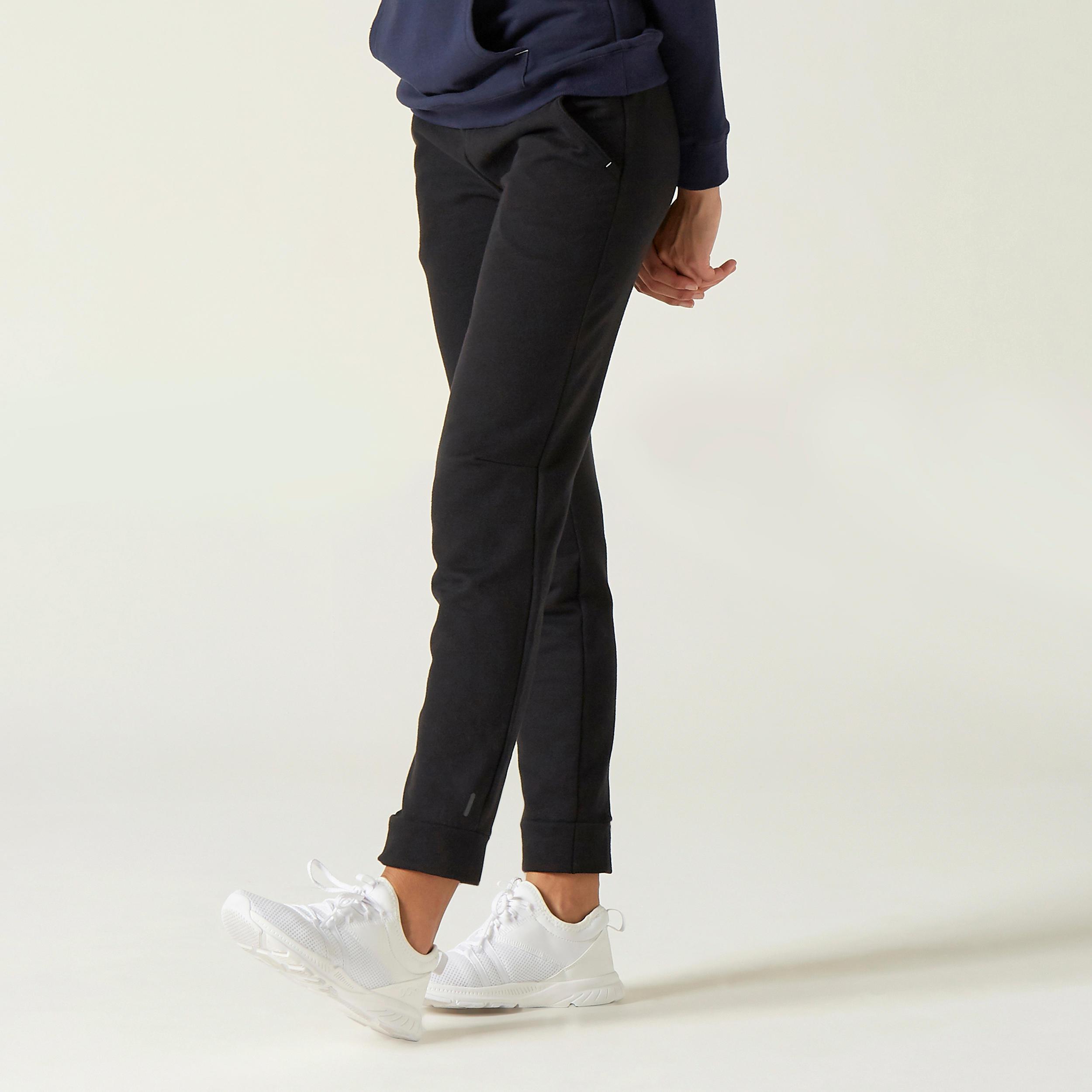 Pantalon regular 500 Damă