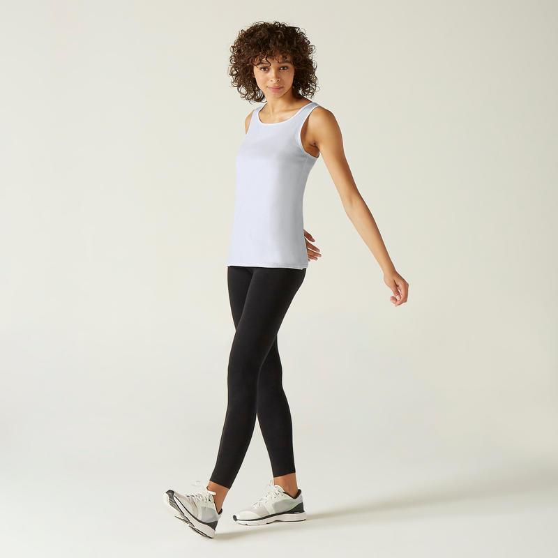 Women's Regular-Fit Tank Top 100 - White
