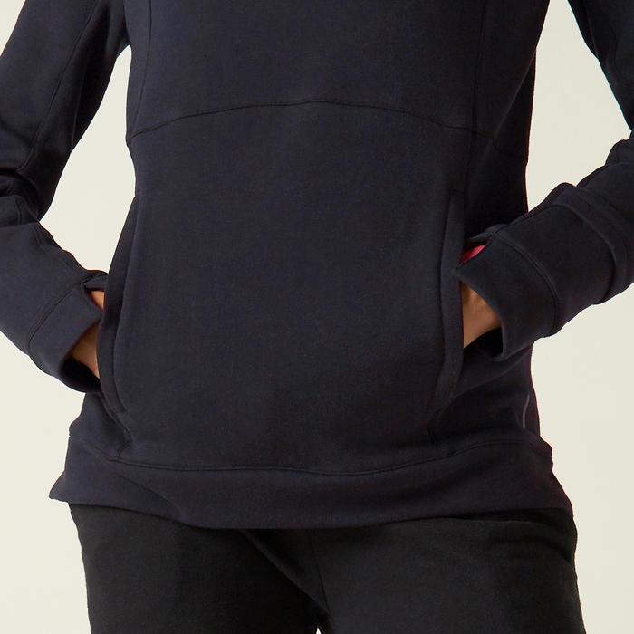 Sweat à Capuche 520 Femme Noir