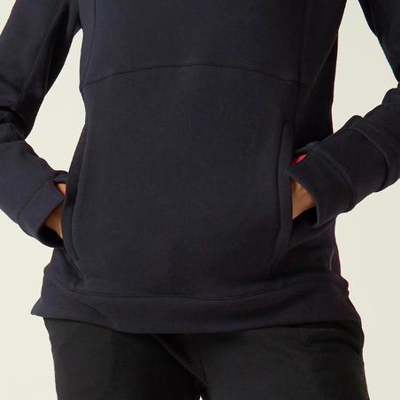 Толстовка жіноча 520 з капюшоном - Чорна