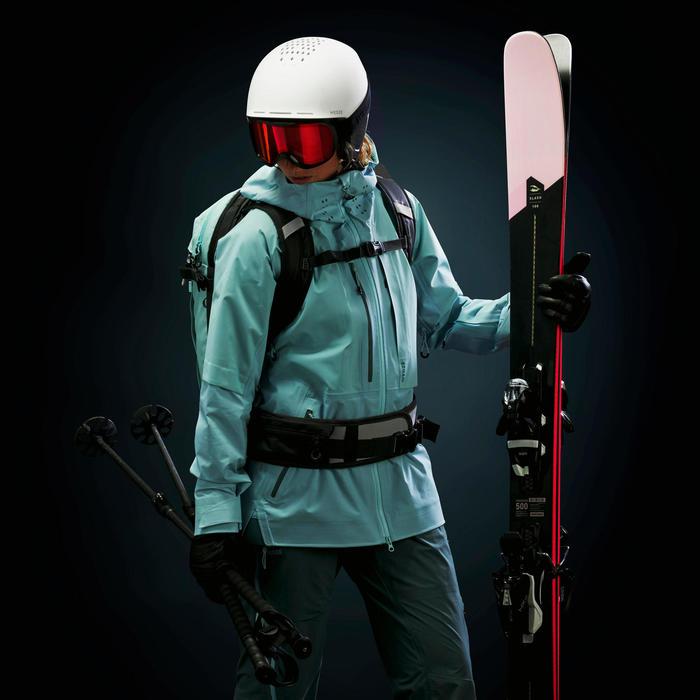 Skijacke Freeride 900 Damen grün