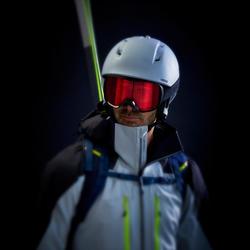 Skijacke Tourenjacke Tourenski Herren grau