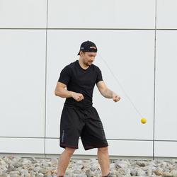 Reflexball zum Trainieren der Schlagpräzision beim Boxen