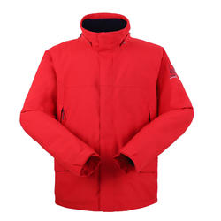 男款保暖航海外套300-紅色