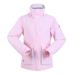 女款保暖航海外套300-淡粉色