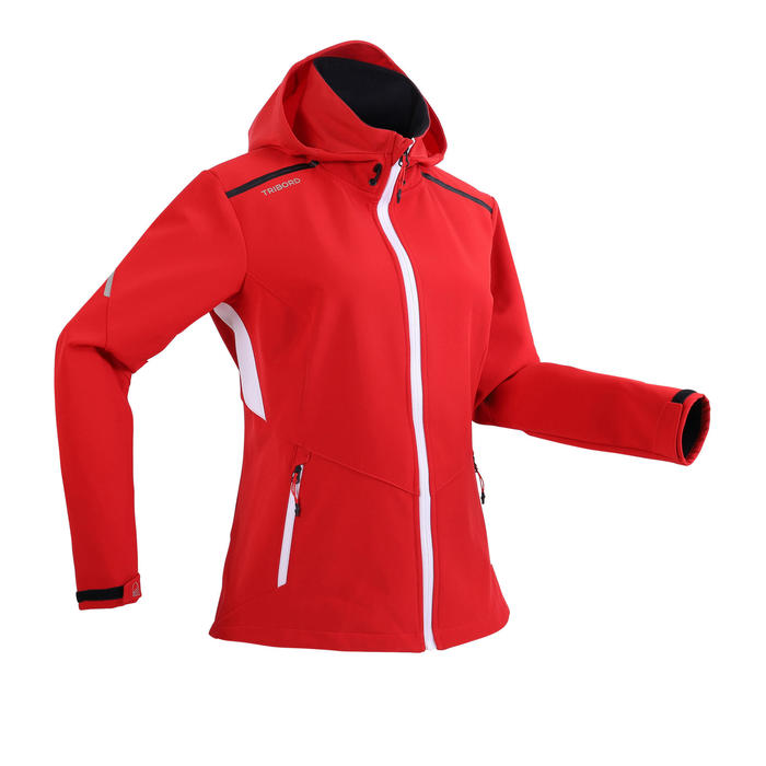 Women's Yacht Racing Softshell - Red