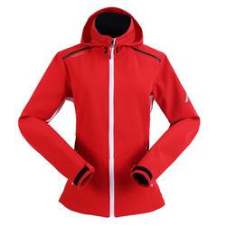 女款遊艇競賽軟殼外套-紅色