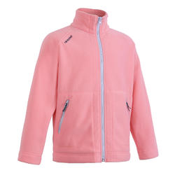 Sailing 100 children's fleece - salmon pink