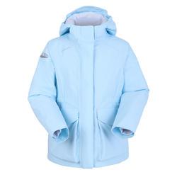 女童款保暖航海外套100-藍色