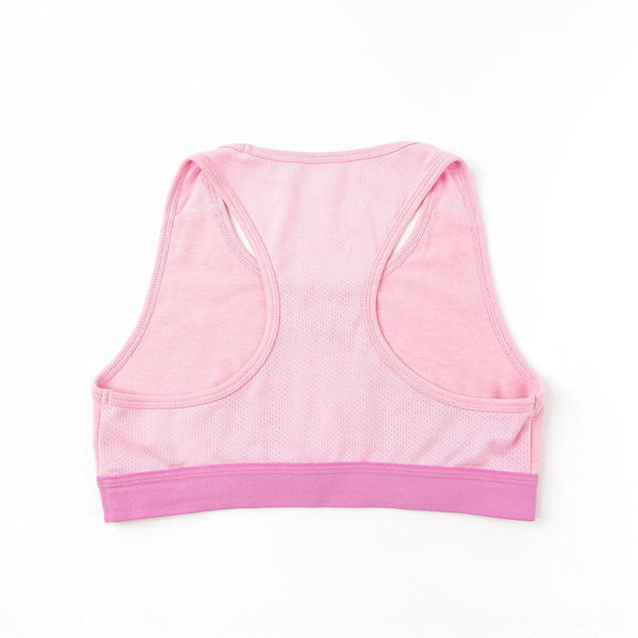 Girls' Gym Sports Bra 100 - Purple