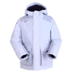 男童款保暖航海外套100-灰色