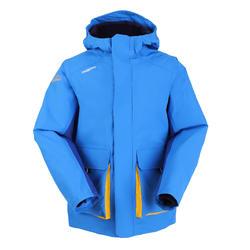 男童款保暖航海外套100-藍色